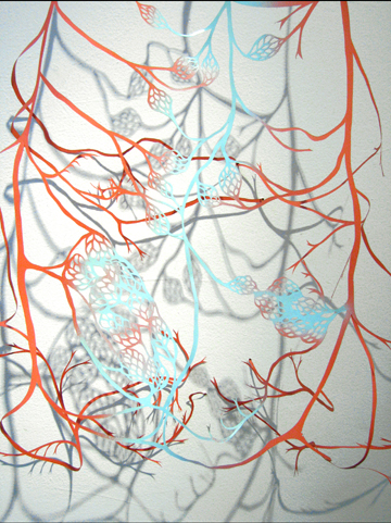 Adriane Colburn - To and fro (detail)