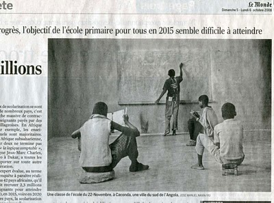 Journal Le Monde, 5/6 octobre 2008, page 4