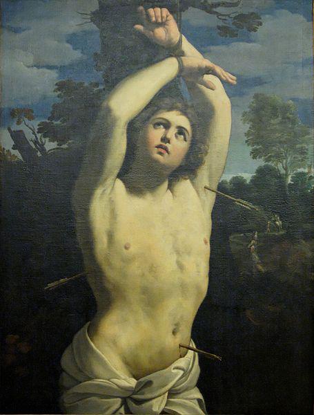 Saint Sebastien de Guido Reni
