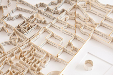 Paper-Sculptures-Map Matthew Picton 1