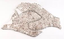 Paper-Sculptures-Map Matthew Picton  2