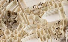 Paper-Sculptures-Map Matthew Picton  4