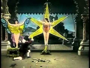 Le papillon fantastique (1909) de Georges Méliès.